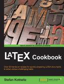 LaTeX Cookbook