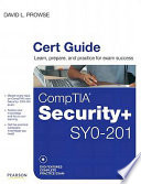 CompTIA Security+ SY0-201 Cert Guide
