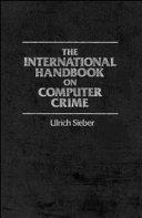 The International Handbook on Computer Crime