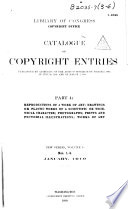 Catalog Of Copyright Entries Book PDF