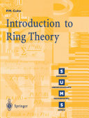 Introduction to Ring Theory