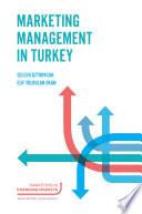 Marketing Management in Turkey