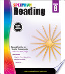 Spectrum Reading Workbook Grade 8