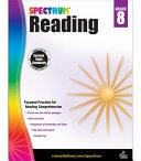 Spectrum Reading Workbook, Grade 8