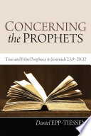 Concerning the Prophets