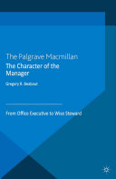 Pdf The Character of the Manager Telecharger