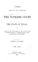 The Texas Reports