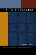 A Lenten Discipline