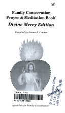 Family Consecration Prayer and Meditation Book