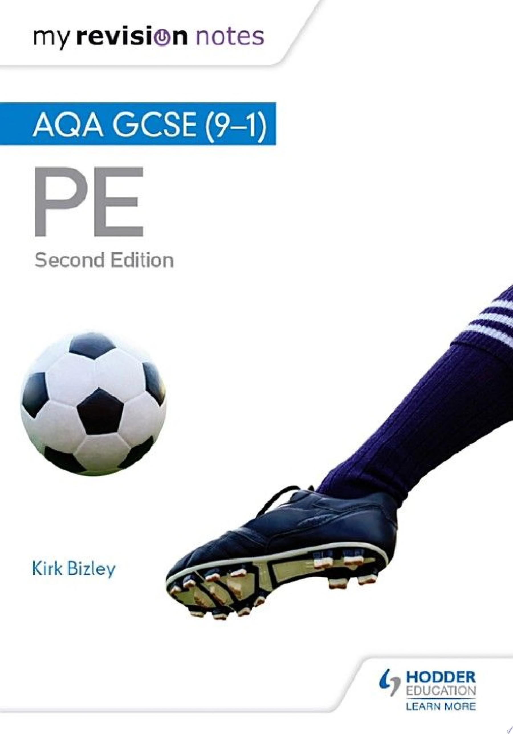 My Revision Notes  AQA GCSE  9 1  PE 2nd Edition