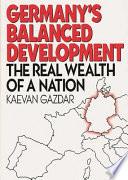 Germany S Balanced Development