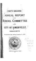 Annual Report of the School Committee of Somerville  for the School Year