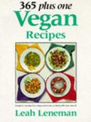 365 Plus One Vegan Recipes