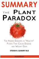 SUMMARY Of The Plant Paradox Book PDF
