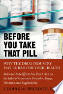 Before You Take That Pill Book PDF