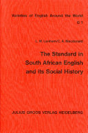 The Standard in South African English and Its Social History