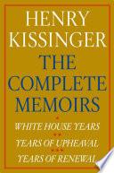 Henry Kissinger The Complete Memoirs E Book Boxed Set
