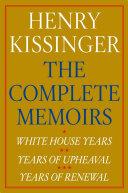 Henry Kissinger The Complete Memoirs E-book Boxed Set [Pdf/ePub] eBook