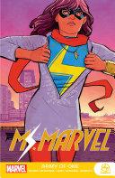 Ms. Marvel Book