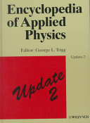 Encyclopedia of applied physics