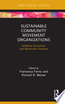 Sustainable Community Movement Organizations Book