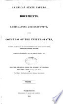 American State Papers Book