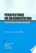 Perspectives on Argumentation