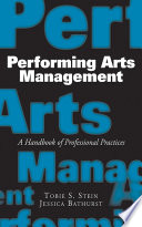 Performing Arts Management