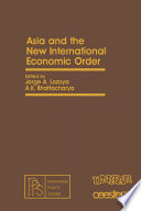 Asia and the New International Economic Order
