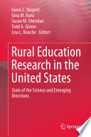 Rural Education Research in the United States