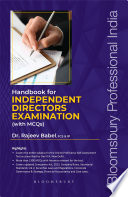 Handbook for Independent Director s Examination  With MCQs