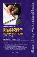 Handbook for Independent Director's Examination (With MCQs) [Pdf/ePub] eBook