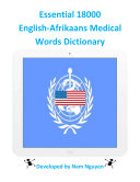 Essential 18000 Medical Words Dictionary In English-Afrikaans [Pdf/ePub] eBook