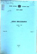 Asian Bibliography