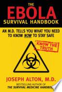 The Ebola Survival Handbook Book PDF
