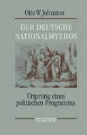 Pdf Der deutsche Nationalmythos Telecharger
