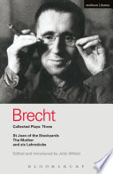 Brecht Collected Plays  3