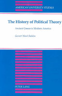 The History of Political Theory Book PDF