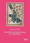 Ruodlieb, der älteste Roman des Mittelalters