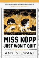 Miss Kopp Just Won't Quit Pdf/ePub eBook