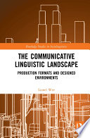 The Communicative Linguistic Landscape