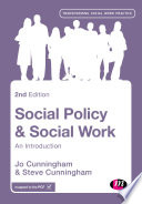 Social Policy and Social Work Book PDF
