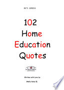 102 Home Education Quotes