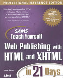 Sams Teach Yourself Web Publishing with HTML and XHTML in 21 Days