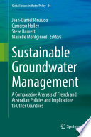 Sustainable Groundwater Management