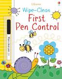 Wipe Clean First Pen Control Book
