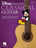 Disney Songs for Classical Guitar (Songbook)