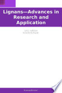 Lignans   Advances in Research and Application  2012 Edition