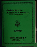 Guide to the American Occult