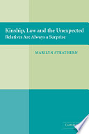 Kinship Law And The Unexpected Book PDF